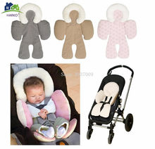Reversible Baby Strollers Body Support Pad Mat Baby Car Seat Stroller Baby Head Body Support Cushion(China)