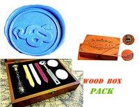 Vintage Snail Custom Luxury Wax Seal Sealing Stamp Brass Peacock Metal Handle Sticks Melting Spoon Wood
