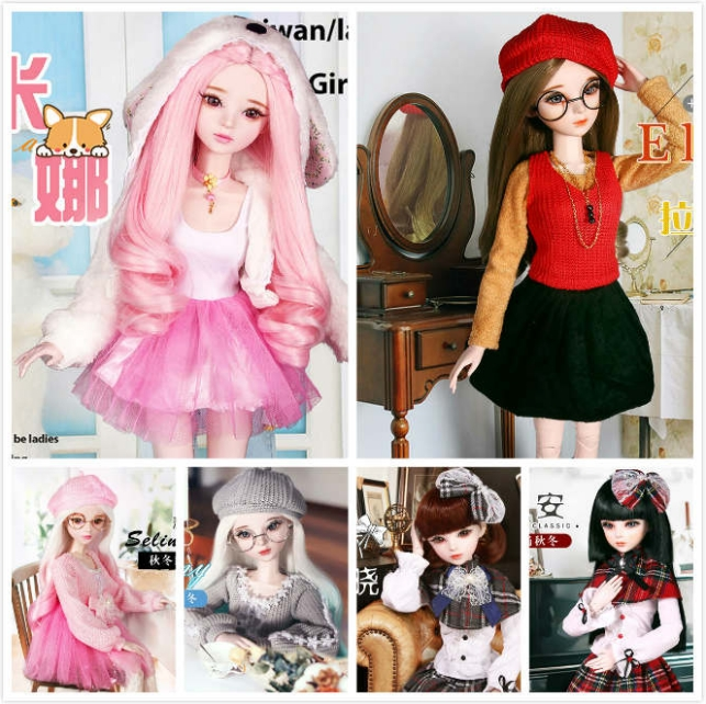 Fashion Style 13 Bjd Doll 56Cm Adult Sex Female Plastic -4529