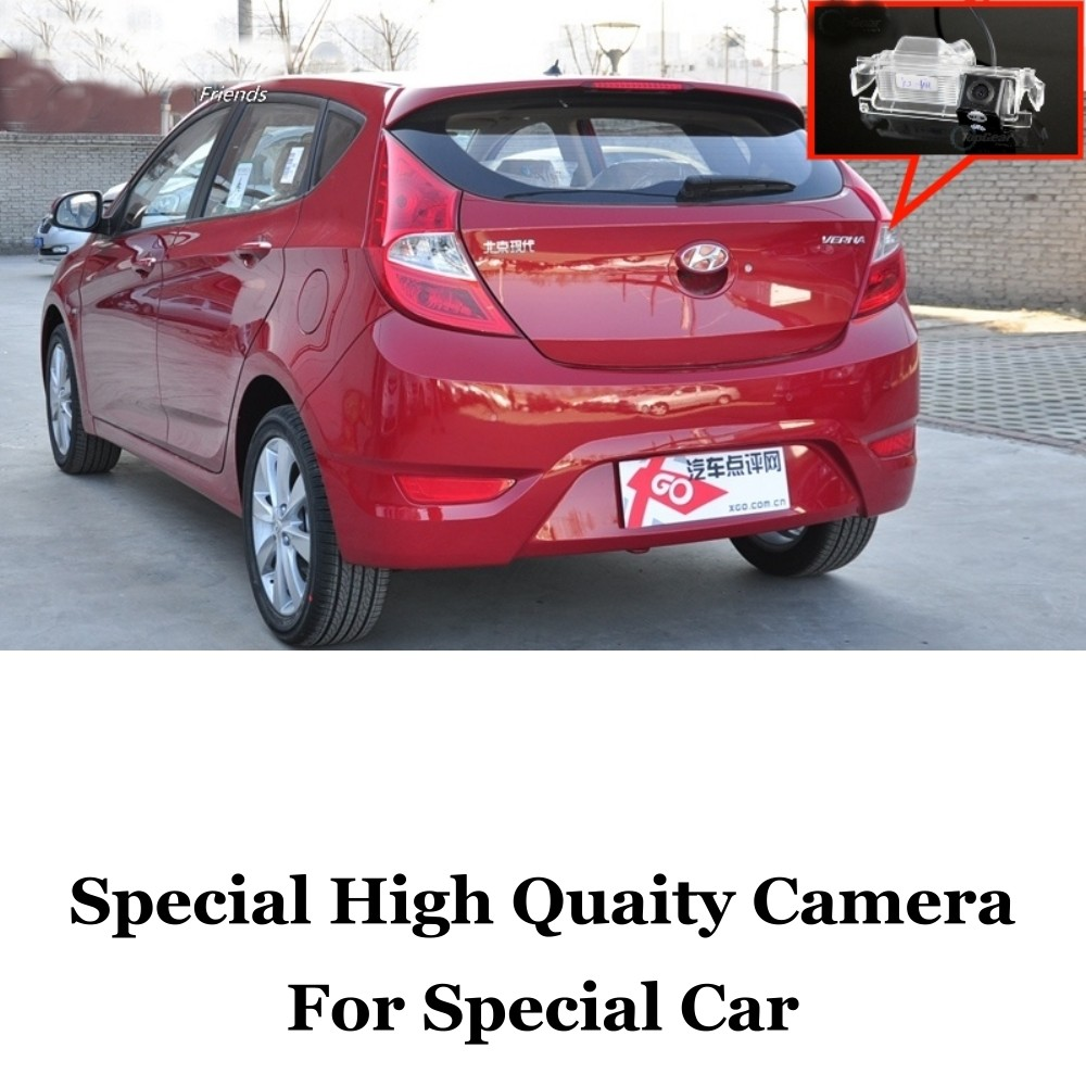 Car Camera For Hyundai Verna  Accent Blue  Fluidic  Solaris  Grand Avega  i25 Rear View Back Up Camera For  RCA Car