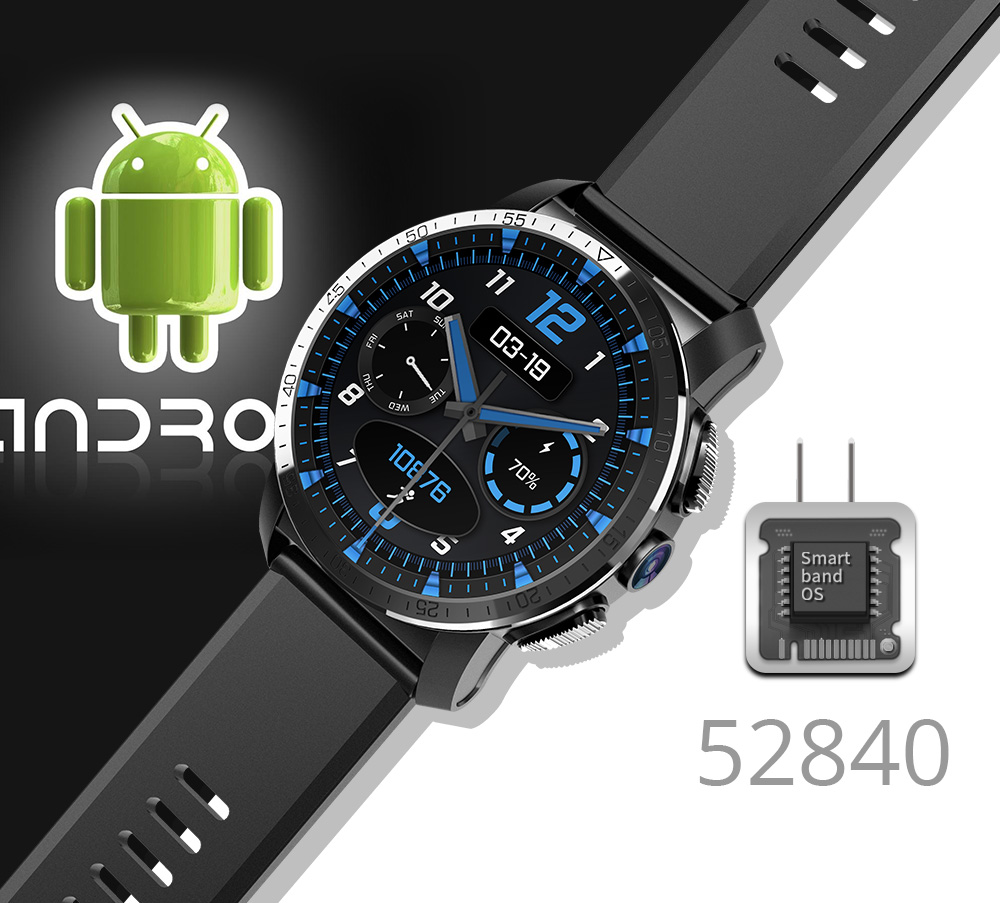 Makibes M3 4G Smart Watch 12
