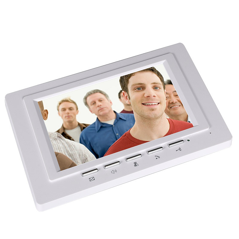 Image 2 - 7 Inch Video Door Phone Doorbell Intercom Kit 2  camera 1 monitor Night Vision-in Video Intercom from Security & Protection