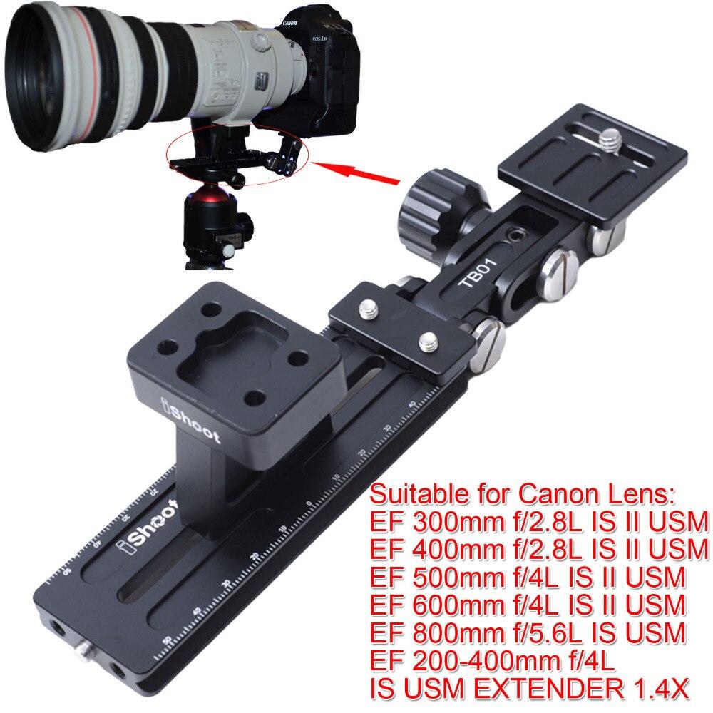 Support de Base d'anneau de montage sur trépied Support de collier plaque de fixation rapide pour Canon EF 500mm f/4L IS II USM