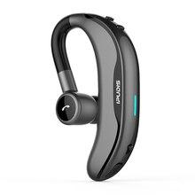 IPUDIS Bluetooth Headphone Ear Hook Wireless Earphone Stereo Handfree 17H Workin