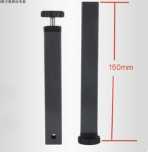 4Pieces/Lot H:150MM (For 30x30mm square pipe)Pinch Supporting Leg Bed Legs Tatami Foot