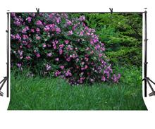 7x5ft Natural Scenery Backdrop Bouquets of Flowers Green Grass Photography Background and Studio Props