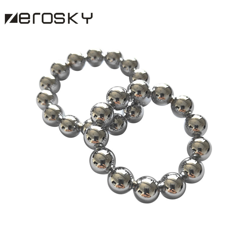 Zerosky Stainless Steel Penis Ring For Male  Cock Rings Adult Sex Toys Time Lasting Sex Products