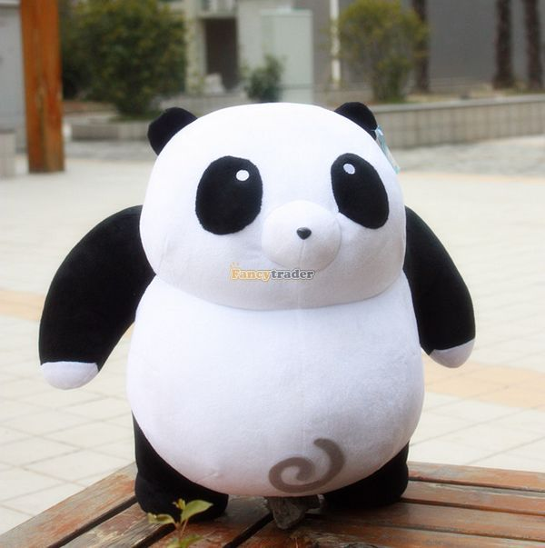 Fancytrader New Arrival!  20'' / 50cm Giant Stuffed Soft Plush Kung fu Panda Toy, Nice Gift For Babies, Free Shipping FT50789 1pc oversize huge 80cm funny stuffed simulated panda toy giant filling panda plush doll nice gift and decoration