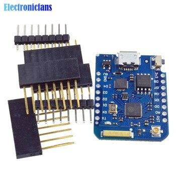 WEMOS D1 Mini Pro 16 M 바이트 외부 안테나 커넥터 NodeMCU ESP8266 ESP8266F CP2104 WIFI IOT 개발 보드