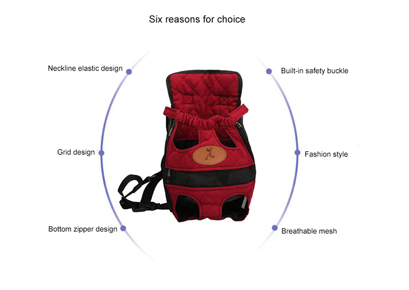 Wholesale Pet Carrier Dog Front Chest Backpack Outdoor Dog