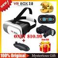 VR КОРОБКА 2.0 Google Картон VR Виртуальная Реальность Очки 3D Очки VR Shinecon1.0 3.0 БОБО Z4 + Беспроводная Связь Bluetooth Пульт Дистанционного геймпад