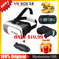 VR BOX 2.0 Google Cardboard VR Virtual Reality Goggles 3D Glasses VR Shinecon1.0 3.0 BOBO Z4 +Wireless Bluetooth Remote Gamepad
