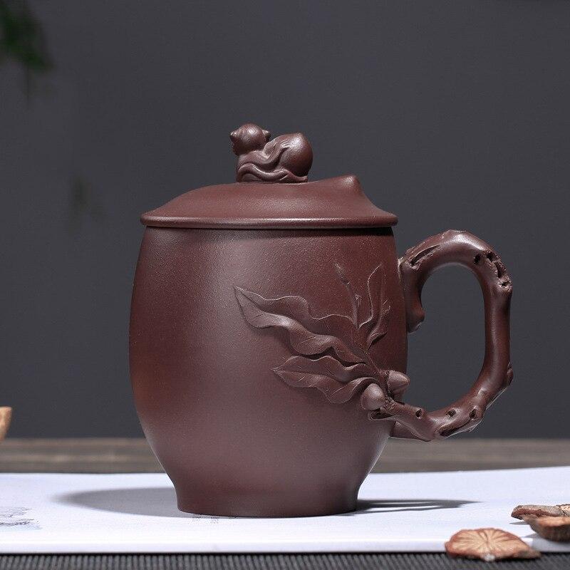 PINNY 350 ml Yixing arcilla Púrpura