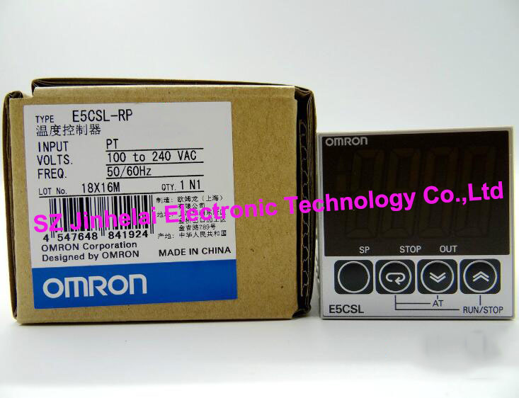 New and original  E5CSL-RP  OMRON    AC100-240V Temperature controller new and original e3x da11 s omron optical fiber amplifier photoelectric switch 12 24vdc