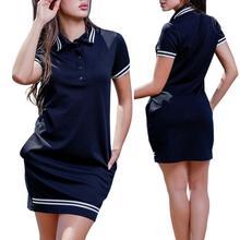 Women Polo Dress L-6XL Fashion Short Sleeve Stripe Bodycon Mini Pencil Dresses Summer Female Elegant Casual Dress Vestidos