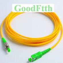 Волоконные патч корды SC/APC FC/APC SM Simplex GoodFtth 1 15 м