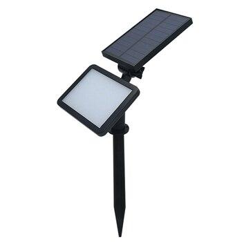 SZYOUMY 30 Pieces Solar Lawn Light Outdoor Solar Power 48 LEDs Wall Spotlight Garden Street Lamp Landscape Spot Lights