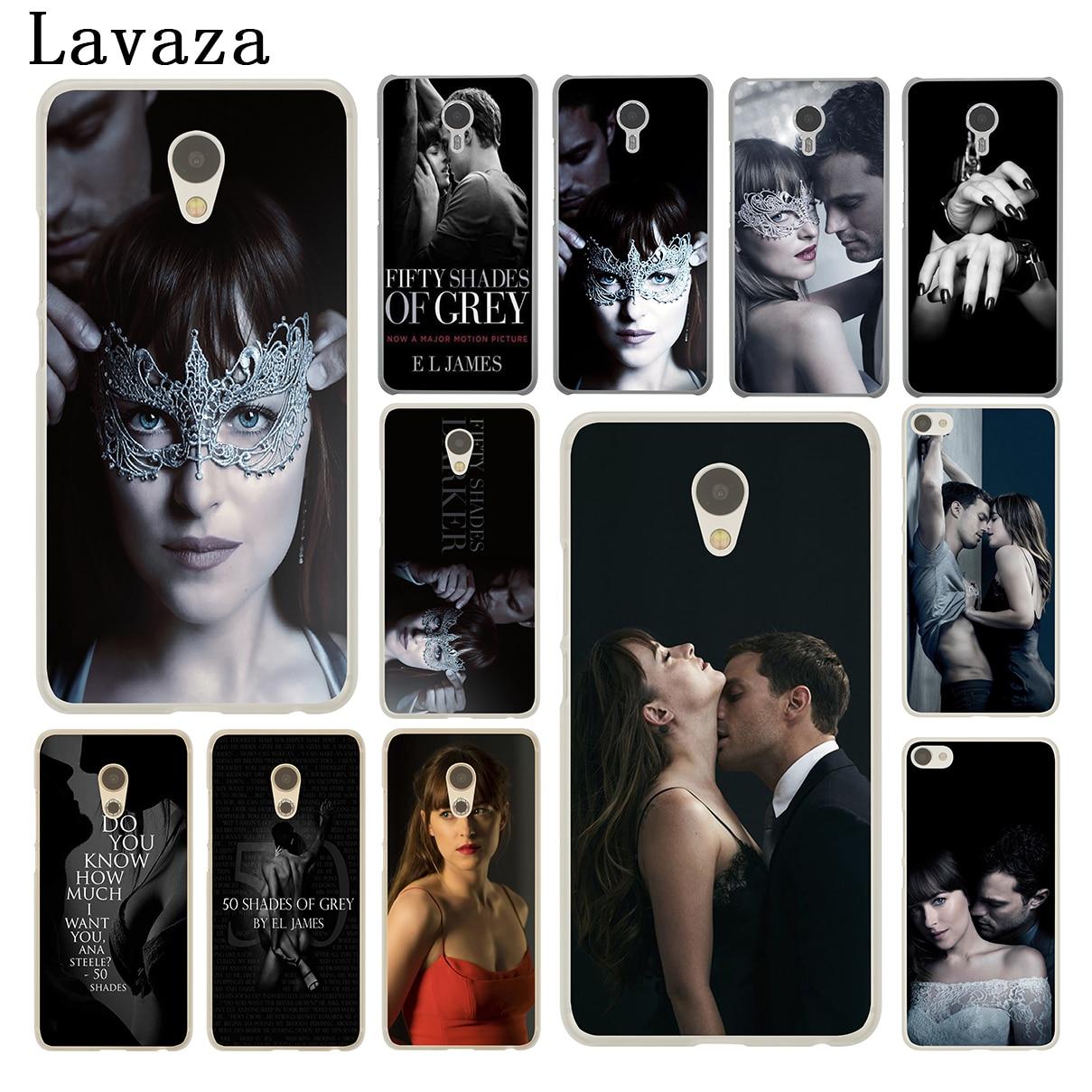 Lavaza Fifty Shades Darker of grey freed Hard Phone Case for Meizu M5C M6 M5 M5S M2 M3 M3S Mini Note U10 U20 Pro 7 Plus 6 Cover ...