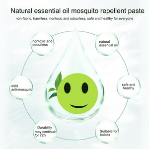 Image 5 - 60Pcs Portable Mosquito Stickers Anti Mosquito Insect Repellent Stickers Patches Smiling Face Mosquito Killer Random Color