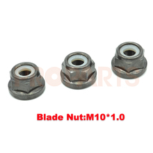 3PCS Brush Cutter Gear Case Blade Nut M10x1.0 Left Thread
