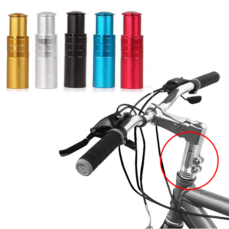 2018 New MTB Bicycle Mountain Bike Handlebar Fork Stem Riser Rise Up Extender Extension Heads Up Adaptor Durable Bicycle Parts