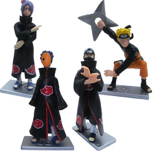 Anime Naruto Uzumaki Uchiha Obito Madara Action Figures Toys Dolls Collection