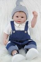 55 cm Completa Brinquedos Realistas Vinil Silicone Renascer Boneca Bebê Bebês Recém-nascidos Linda Boneca de Presente de Aniversário Presentes Bathe Duche brinquedo