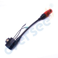 Boat 6R3 85570 01 Ignition Coil with cap Assy for Yamaha Outboard Engine Motor L 100HP 150 175 200 225HP 6R3 85570 00