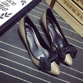 Envío gratis zapatillas de Ballet zapatos planos cómodos zapatos de gran tamaño Mujeres pisos-703-13