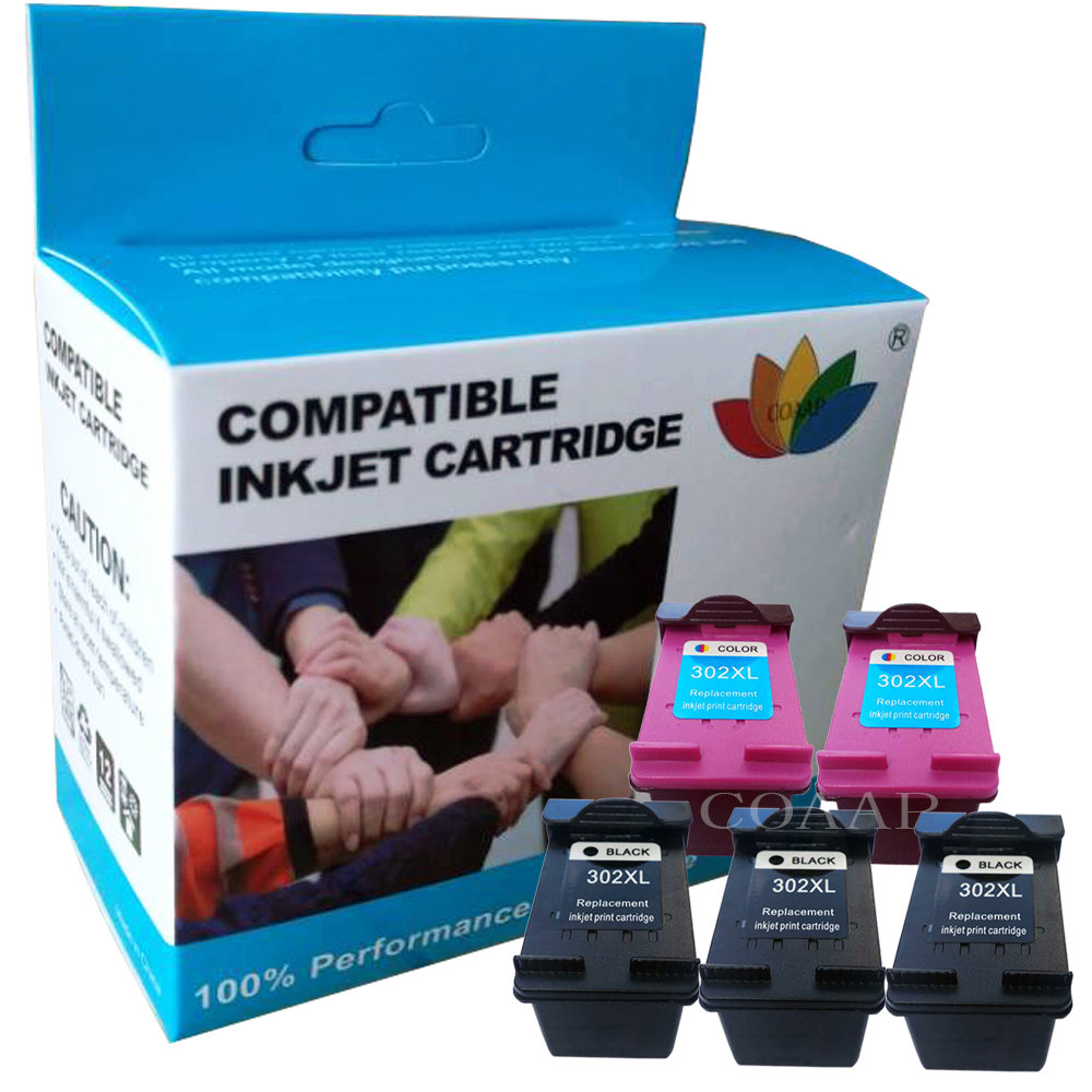 F6U68AE F6U67AE Replacement Ink Cartridge For Hp 302 302XL For HP Envy 4520 4521 4522 4524 4525 4527 4528 E-All-in-One Printer