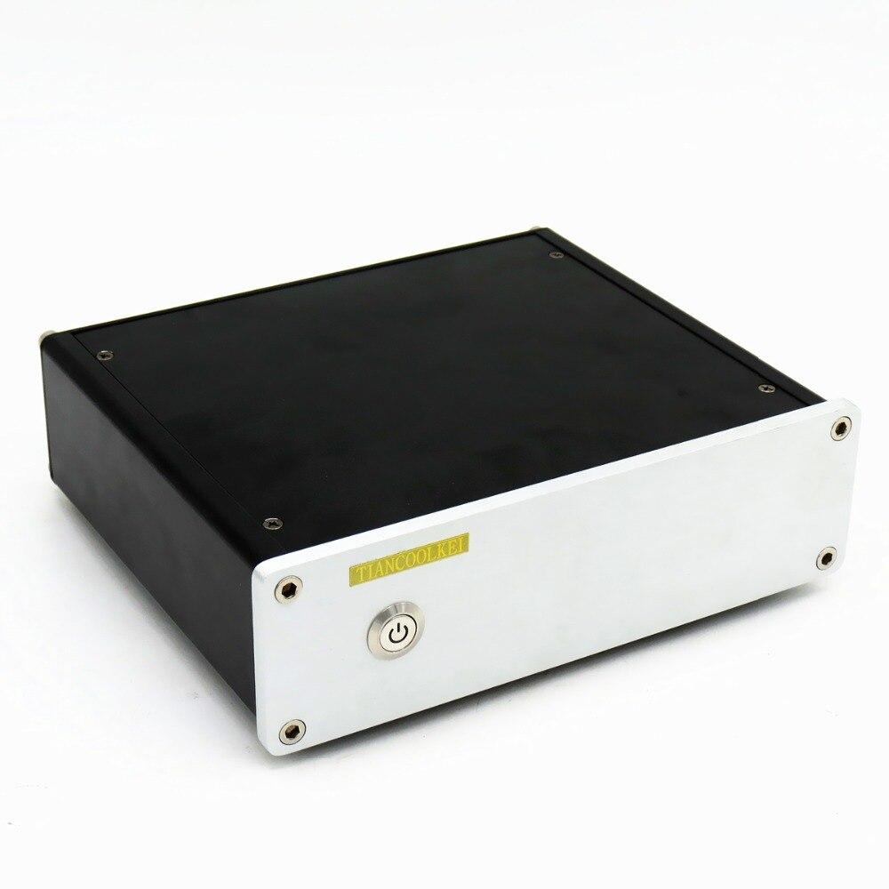 TIANCOOLKEI CS4398 Audio decoder DAC supports USB fiber 24Bit 192KHz Professional amplifier Audio equipment