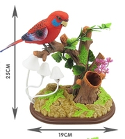 Children S Electric Toy Authentic Voice Control Bird Creative Simulation Induction Bird Can Sing And Dance