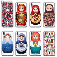 Phone Case Russian Matryoshka Dolls For Huawei Y5 Y6 II Y7 Prime 2017 2018 Cover(China)