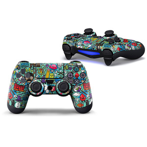 Image 5 - PVC Custom Sticker Case Protector For Sony for PS4 Playstation 4 Dualshock Controller