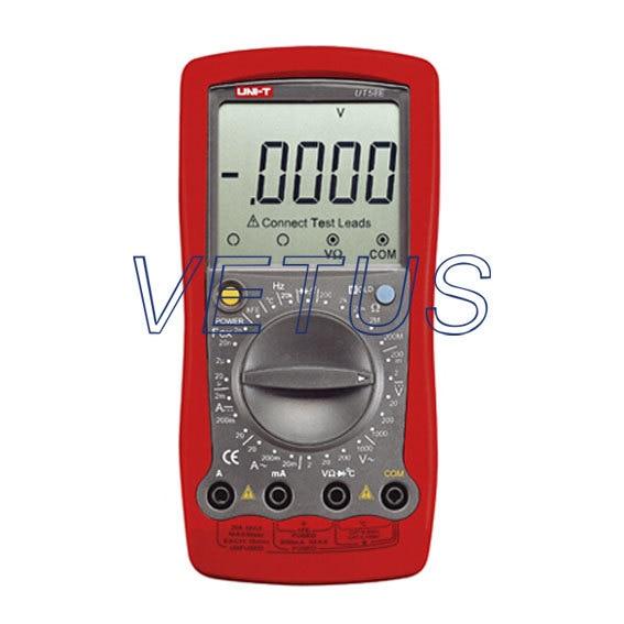 UNI-T UT58E UT-58E LCD multifunction Digital Multimeter uni t ut60d ut 60d lcd handheld digital multifunction multimeter with autorange bandwidth 100khz 3db