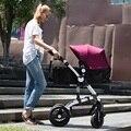 Bb bebé niño cochecito de bebé cochecito de bebé plegable de la absorción de choque a prueba de explosiones de la rueda