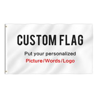 Custom Flag Using Your Personalized Picture Words Logo to Customized Gifts DIY Outdoor Banner Polyester 4x6 Foot Print one Side