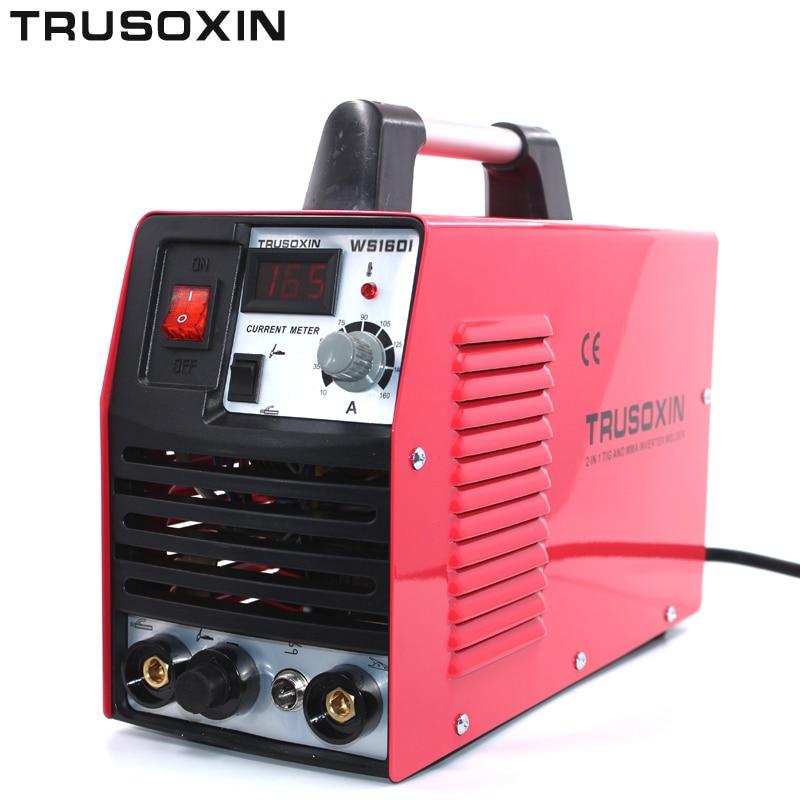 Мини 220 В Портативный инвертор тока IGBT TIG + MMA 2 в 1 DIY пайки станков/сварочное оборудование /Сварщик/сварочный аппарат