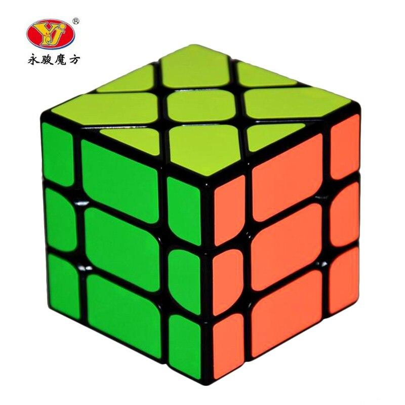 New Arrival YongJun YJ Speed 3X3X3 Fisher font b Cube b font font b Magic b