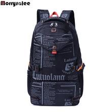 776394131e22 Для мужчин; молодежная мода рюкзак большой емкости школы ученический рюкзак  сумка для ноутбука(China