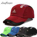 LongKeeper Spring Summer Snapback Caps for Men Women Letters Sun Cap Outdoor Casual Hats Quick Dry Beisbol Chapeu GU-17