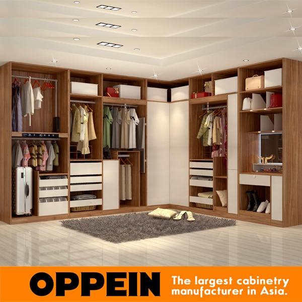2016 new Modern style wardrobe Open Type Design Wardrobes