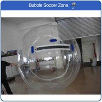 Free Shipping 2M TPU Inflatable Human Hamster Ball Water Walking Ball Inflatable Water Zorb Ball Giant Inflatables