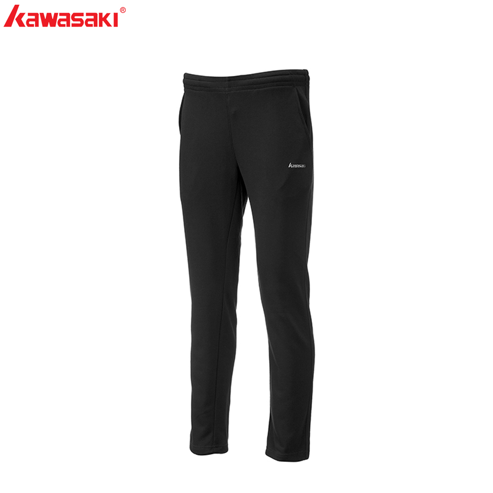 Kawasaki Brand Women Sports Gym Pants Badminton Tennis Training Pant Quick Dry Breathable Fitness Running Trousers SP-S2501