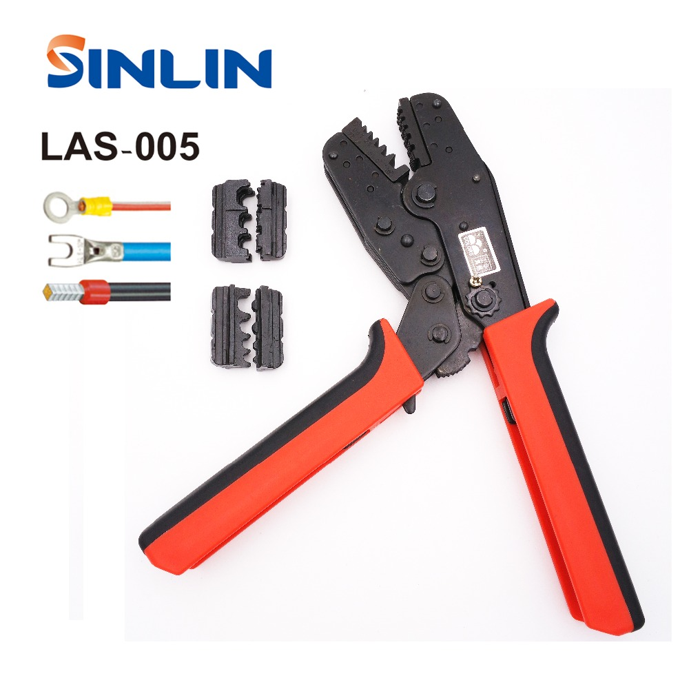LAS-005 Multi function Crimp Of Energy Saving Crimping Pliers Two sets of dies at both side for using and storing easily crimper