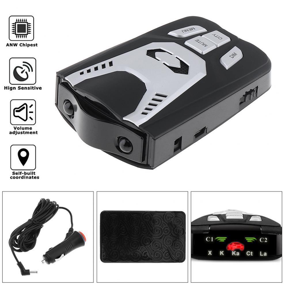 D5 X K Ka Laser Strelka détecteur de voiture détecteur Anti-Radar Artway dispositifs de détection Antiradar avec écran affichage LED