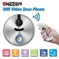 Tmezon Unlock By Phone Wireless Wifi Video Door Phone Intercom 720P HD 1.0MP Outdoor Dome Camera IP Doorphone IOS Android P2P