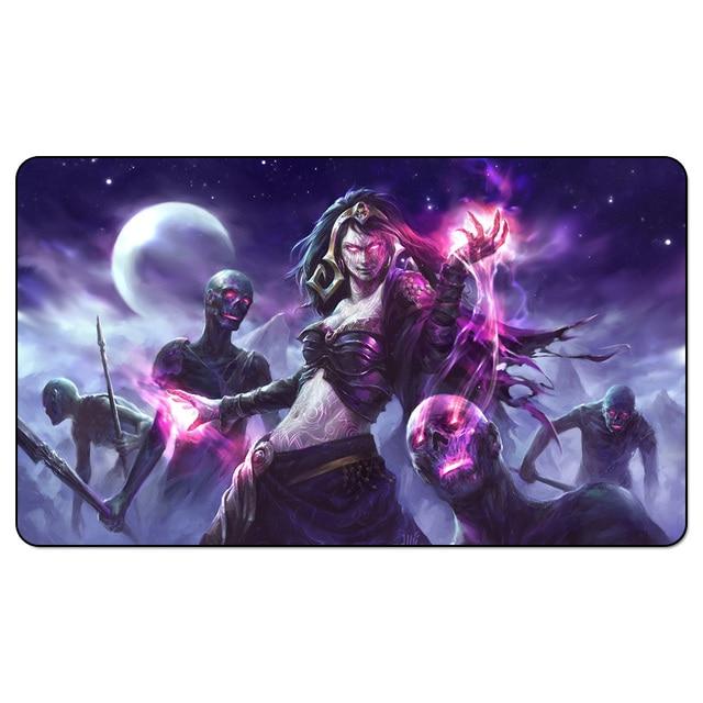 Волшебная Liliana смерти величие волшебный коврик для игр, настольные игры игровой коврик, коврик для игр, пользовательская настольная накладка с бесплатной коврик сумка