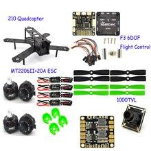 RC plane 210 Mm camera drone professional Carbon Fiber large Quadcopter Frame F3 Flight Controller 2206 1900kv Motor 4050 Prop