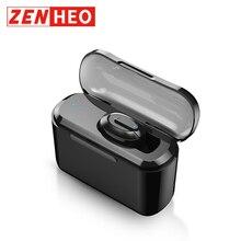 ZENHEO T1 Airdots 1200 мАч Зарядка бен Bluetooth 4,2 наушники-вкладыши Беспроводной наушники стручки наушники Bluetooth наушники для телефона